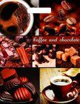 Купить оптом полиэтиленовый пакет Кофе и шоколад с прорубной (вырубной) ручкой от Тико